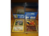 30x Pro top loader clear protective cases for trading cards for Pokémon, YuGiOh, MTG, football etc