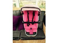 Quinny buzz 4 pink buggy seat