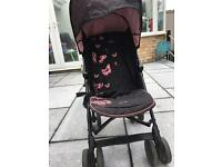 Silver cross butterfly stroller / push chair
