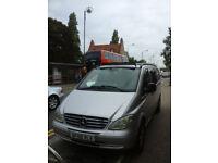 Mercedes Vito 111 CDI-5 seater, 115357 miles