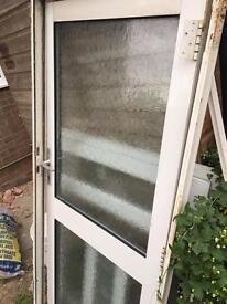Aluminium house door and frame
