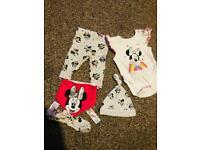 Baby girl tiny baby bundle