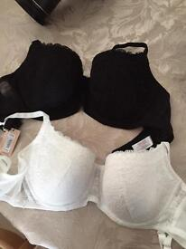 2pk New look lace bras