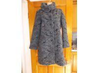 Ladies Paul Costello Grey Coat Large
