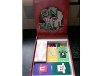 on the ball board game