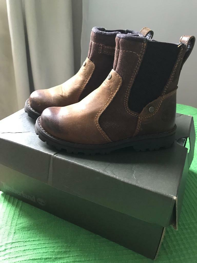 Brown boots Timberland 8.5