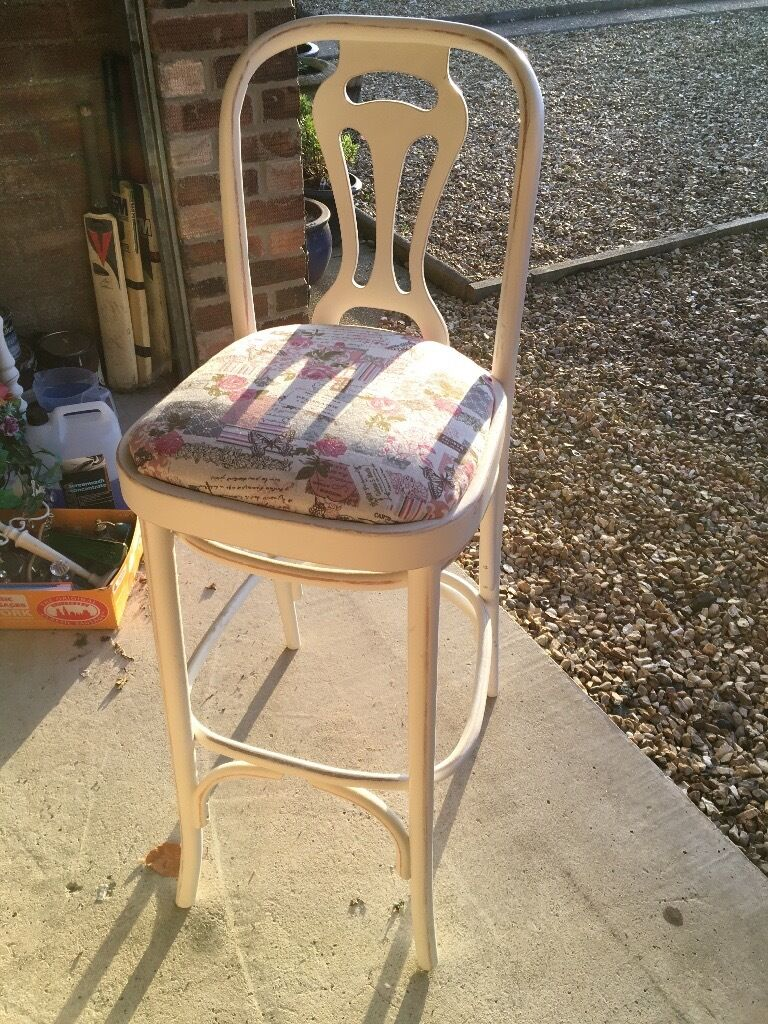 2 Shabby Chic Bar Stools, excellent condition !! | in Hull, East ...