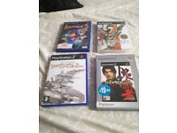 Playstation 2 games x 4