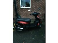 50cc 2016 plate moped 3 year warranty