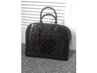 Loui Vuitton style Handbag real Leather