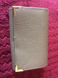 Ladies beige leather purse