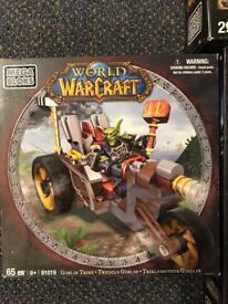 Mega bloks new never opened Warcraft