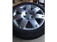 """VW Audi alloy wheels 16"""" 5x112"""