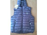 Moncler men's gillet size Large new with tags