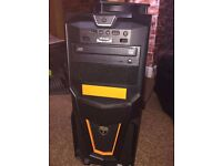 ATX PC Case (Case Fan and DVD Drive Included)