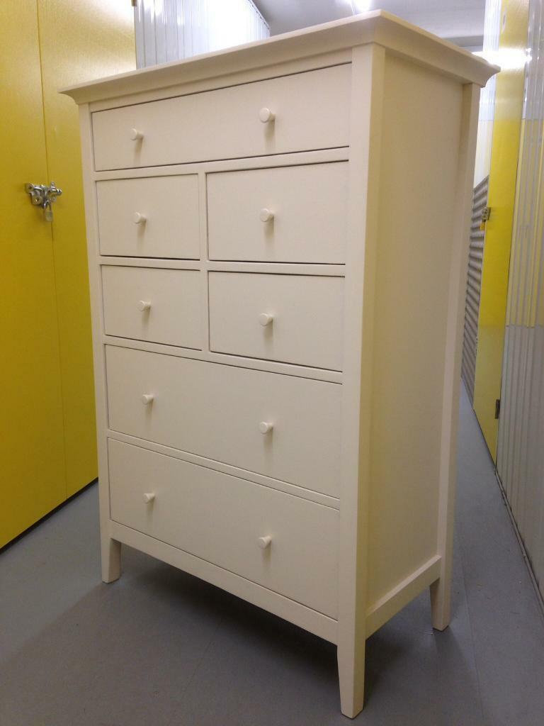 Willis Amp Gambier Solid Oak Painted Chest Of Drawers