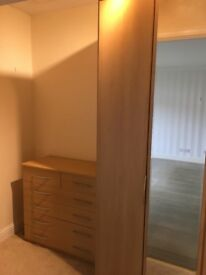 Wardrobe and 6 drawer chest