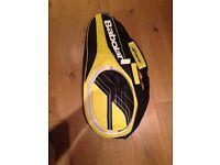 Babolat 3 Pack Tennis Racket Bag, Black/Yellow