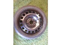 Vauxhall Space Saver Spare Wheel fits Astra H, Meriva, Zafira B (unused)