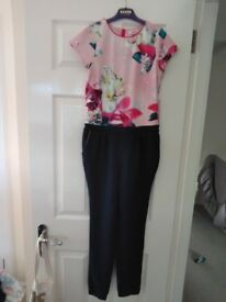 Girls Ted Baker jumpsuit Age 12