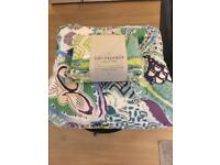King Size Anthropologie quilt and two pillow shams