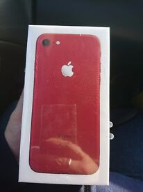 Brand new sealed iPhone 7 Red 128gb