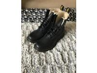 Dr. Martens Leather Women's Shoes - Size UK 8