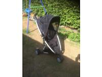 Quinny Zapp Extra Stroller Pram with Rain Cover, Roundhay LS8