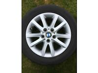 Genuine BMW Alloy Wheels (With Tyres)