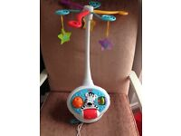 Fisher Price baby cot mobile - great condition