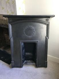 Victorian Cast Iron Fire Surround x 2 (offers accepted)