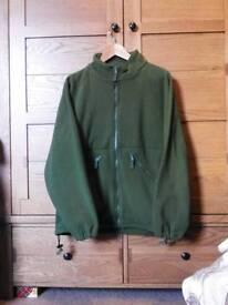 UK Military Issue Fleece Jacket/Thermal Liner. Never worn.Size Medium