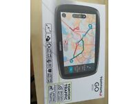 TomTom GO 6100 6 inch Sat Nav with World Maps!! (Sim Card and Unlimited Data Included) sealed