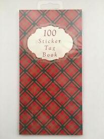 Brand new sticker tag book