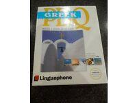 Linguaphone Greek Course plus 2 others
