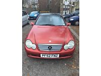 MERCEDES C180 KOMPRESSOR AUTOMATIC ORANGE £1,500 ONO