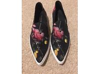 Ted Baker Patterned Pumps Brand New Size 4 (37)