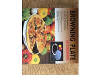 Microwave Browning Plate