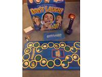 Electronic don't laugh game