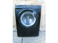hoover 8kg washing machine model:vhd844db in black,used tested,in nice condition