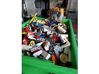 Box full of genuine Lego