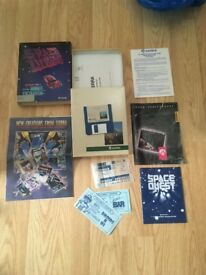 Space Quest I 1 The Sarien Encounter AMIGA 512 K