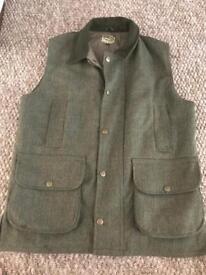 Hoggs tweed country waistcoat