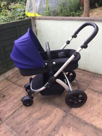 ALL YOU NEED - Ickle Bubba Stomp V3 Isofix Travel System - pram/stroller, car seat and isofix base