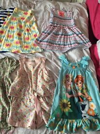Girls clothes 3/4 and 4 years sizes