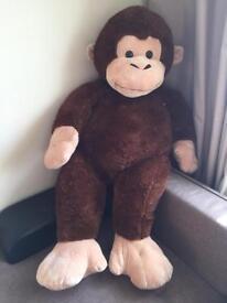 """Monkey soft toy 53"""""""