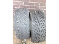 245/35/19 tyres x 2