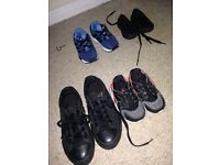 Nike and converse infant trainers various sizes