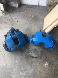 Standard Ford Fiesta ST 150 mk6 brake calipers and carriers