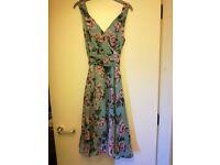 Ladies summer garden party/wedding dress. Size 16.